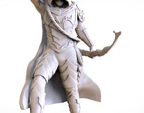 miniatures ARCHER CONCEPT ZBRUSH 3D MODEL