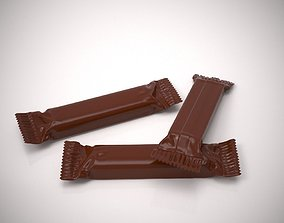 snack snickers package 3D
