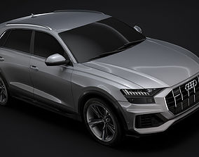 Audi Q8 50 TDI quattro 2020 3D