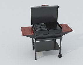 Barbecue 3D asset