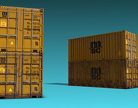 Shipping Container 06 3D model