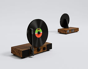 Floating Record 3D model