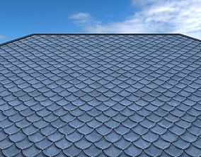 Roof shingle 3D