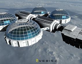 3D asset Bio Ship