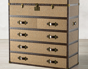 3D MAYFAIR RATTAN CHEST