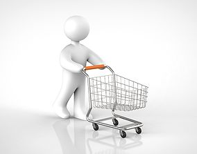 3D buying shopping cart