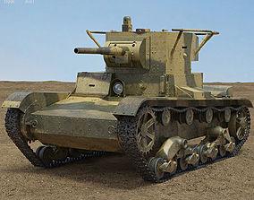 3D model T-26 Tank