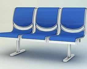 3D model Airport Seat