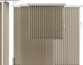 Vertical blinds 3D