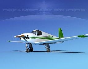 Mooney M-18 Mite V03 3D model
