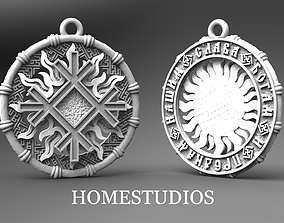 RUNIC PENDANT 7 3D printable model