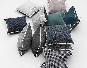 3D model Pillows photorealistic