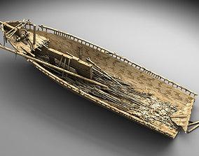 Wooden shipwreck 2 3D scuba