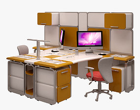 Workstation Set 002 3D