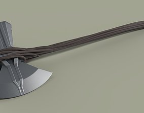 Stormbreaker of Thor from movie Avengers Infinity 3D