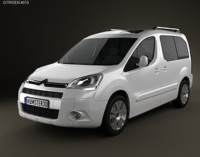 3D model Citroen Berlingo Multispace 2011