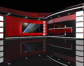 3D model On Air Virtual Studio