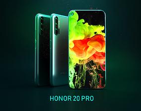 3D asset HONOR 20 PRO