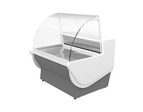 Display Fridge 3D model