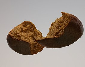 Tasty Bread 05 3D asset