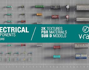 Electrical components vol4 3D asset