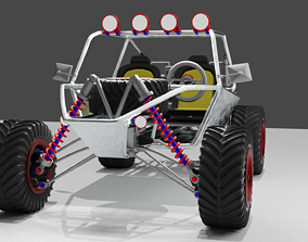 Dune Buggy 3D model competition