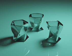 odd looking glass collection 3D
