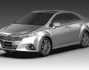 Toyota SAI 2014 3D car