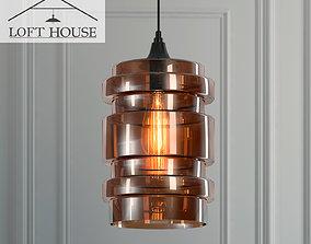 3D Hanging lamp LOFT HOUSE P-159