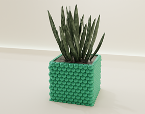 3D printable model plant pot holder 57