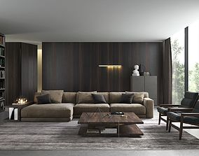 BeInspiration 72 armchair 3D model