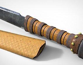 Ancient Dagger 3D asset