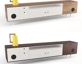 Caixa Buffet and Cabinet Sideboard 3D asset