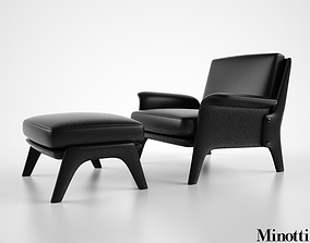Minotti Glover 3D model