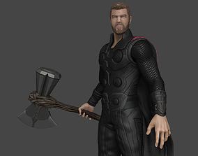 3D Thor - Stormbreaker - Infinity War - Model High Poly -