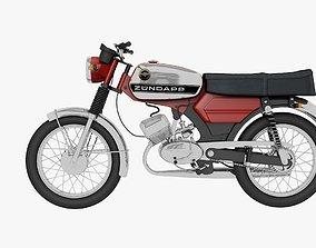 3D model Zundapp KS 50cc