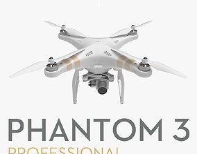 3D model DJI Phantom 3 Professional