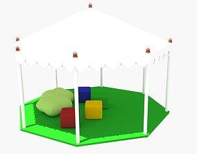 Shadow shelter 3D model