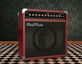RedPlate BlackVerb Amp 3D model