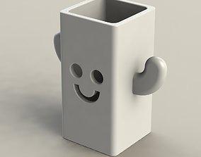 3D printable model Happy Pen Holder