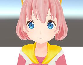 animated Unity Humanoid Model Cecil001