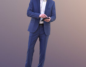 Lars 10426 - Standing Business Man 3D model