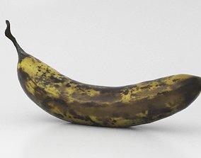 Banana - Over Ripe 3D model