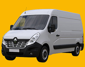3D Renault Master L2H2 Panel Van