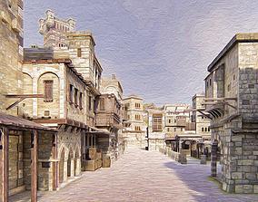 palace Medieval City 3D model
