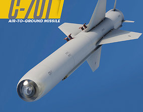 3D model C-701T Air-to-Ground Missile