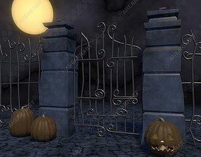 Nightmare Before Christmas Gate 3D model