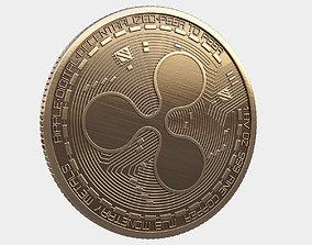 Ripple coin 3D
