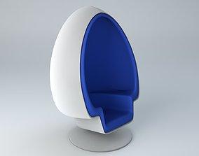 Egg Chair designer 3D model