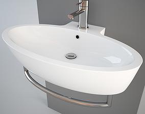3D model Simas LFT34 wash-basin